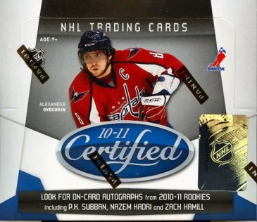 2010/11 Panini Certified Hockey Hobby Box