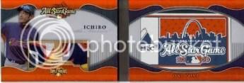 2010 TRIPLE THREADS ICHIRO MLB LAUNDRY TAG BOOK 1/1
