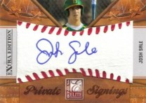 2010 Donruss Elite EEE Josh Sale Private Signing Autograph