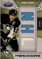 2010/11 Certified Sidney Crosby Jersey Card