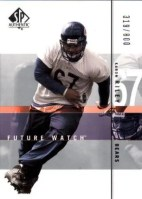 2001 Sp Authentic KARON RILEY Rookie RC Card