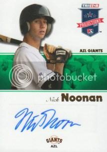 2008 TriStar Projections Nick Noonan Autograph
