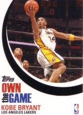 2007/08 Topps Own The Game Kobe Bryant