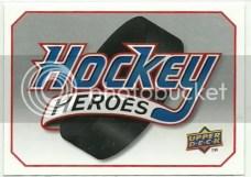 2010/11 Upper Deck Steve Yzerman Heroes Header