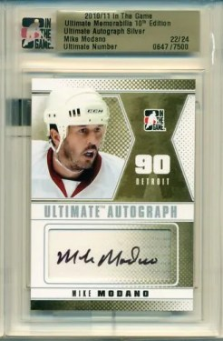 10/11 ITG Ultimate Auto Mike Modano