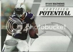 2010 Panini Certified Potential Ryan Mathews