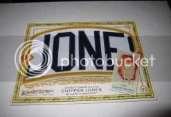 2010 Topps Allen & Ginter Chipper Jones Nameplate Box Loader