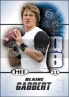 2011 Sage Blaine Gabbert Rookie RC Card