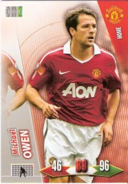 2010-11 Adrenalyn Michael Owen Manchester United