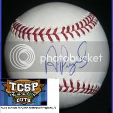 2011 Tri-City Sports Albert Pujols Auto PSA/DNA Baseball