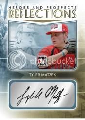2010/11 ITG Tyler Matzek Reflections Autograph RC Heroes Prospects