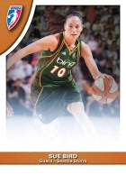 2010 Rittenhouse WNBA Sue Bird #28