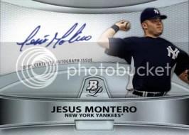 2010 Bowman Platinum Jesus Montero Autograph
