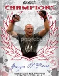 2010 Leaf MMA GSP Champions Autograph