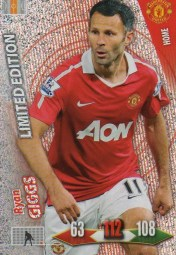 2010-11 Panini Adrenalyn Ryan Giggs Limited Edition