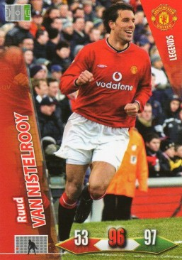 2010-11 Manchester United Adrenalyn Ruud Van Nisterooy