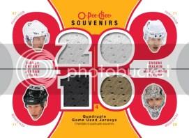 2010/11 OPC O-Pee-Chee Souvenirs Quad Jersey