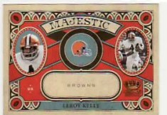 2010 Panini Crown Royale LeRoy Kelly Majestic
