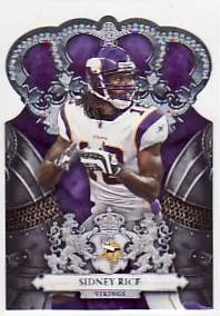 2010 Panini Crown Royale Sidney Rice
