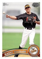 2011 Topps Pro Debut Manny Machado Base Card