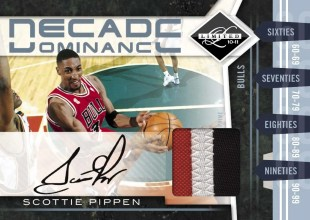 2010/11 Panini Limited Scottie Pippen Decade