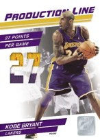 2010/11 Donruss Kobe Bryant Production Line Jersey Card
