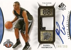 Upper Deck Sp Authentic Russell Westbrook RC Autograph