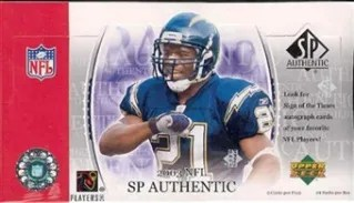 2003 Upper Deck SP Authentic Football Hobby Box