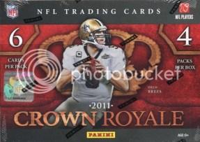 2011 Panini Crown Royale Football Hobby Box