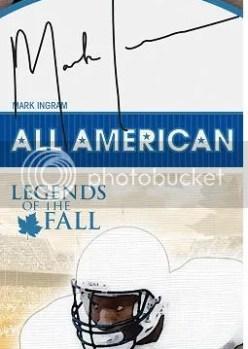 2011 Press Pass Legends Mark Ingram Autograph