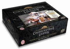 2011 UD College Football Legends Hobby Box