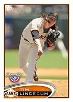 2012 Topps Opening Day Tim Lincecum
