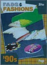 2011 Topps American Pie Fads & Fashions POGS