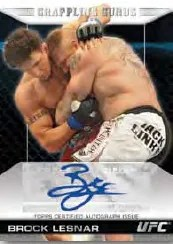 2011 Topps UFC Moment of Truth Brock Lesnar Autograph Card