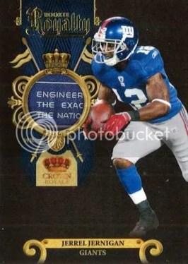 2011 Panini Crown Royale Rookie Royalty Jerrel Jernigan Prime Material Card