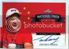 2012 Leaf Metal Poker National Pride Johnny Chan Autograph