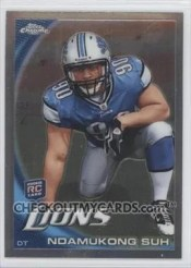 2010 Nadukong Suh Topps Chrome Rookie
