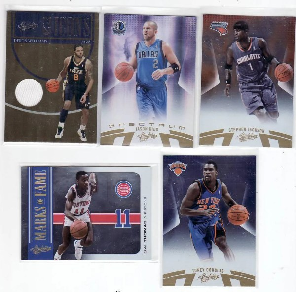 2010/11 Panini Absolute Basketball Box Break Pack #2