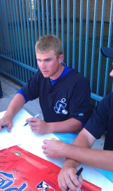 Max Stassi Signing Autographs Stockton Ports Fan Fest