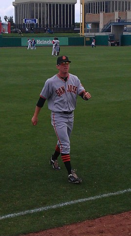 Gary Brown 2011 S.F. Giants Top Prospect