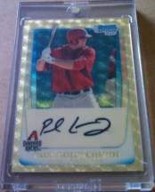 2011 Bowman Chrome Superfractor Paul Goldschmidt 1/1