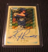 2011 Bowman Chrome Kyle Russell Superfractor Autograph