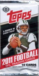 2011 Topps Football Hobby Pack
