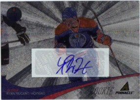 2011-12 Pinnacle Ice Breakers Ryan Nugent-Hopkins Autograph RC Card #284