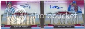 2011 Triple Threads Buster Posey Feliez Book Card
