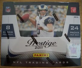 2011 Panini Prestige Football Hobby Box