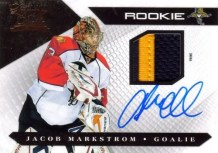 2010-11 Panini Luxury Suite Jacob Markstrom Jersey Rookie Auto