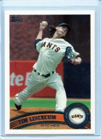 2011 Topps Series 2 Tim Lincecum Double Sparkle