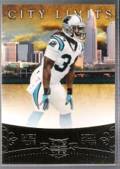 2011 Panini Plates Patches DeAngelo Williams City Limits