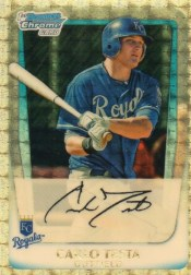 2011 Bowman Chrome Superfractor Carlo Testa 1/1